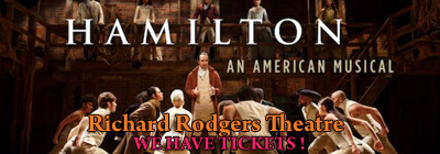 Find Hamilton Musical Broadway New York Tickets