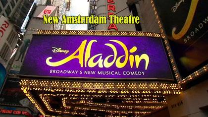 Aladdin New York Tickets