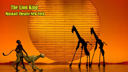 Lion King Musical New York Tickets